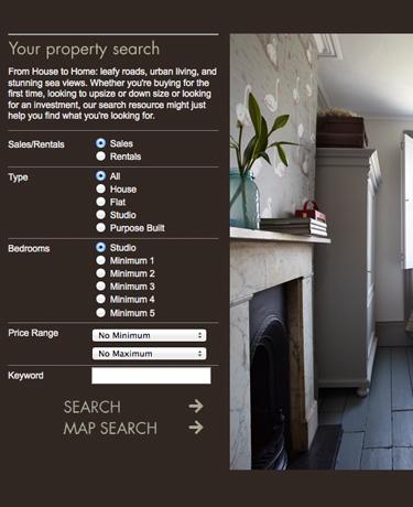 estate agent, Nash Watson business website designs