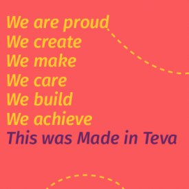 Teva event brand designed
