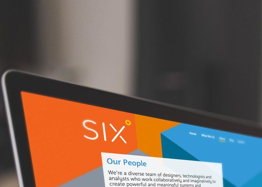 Six consulting websit design