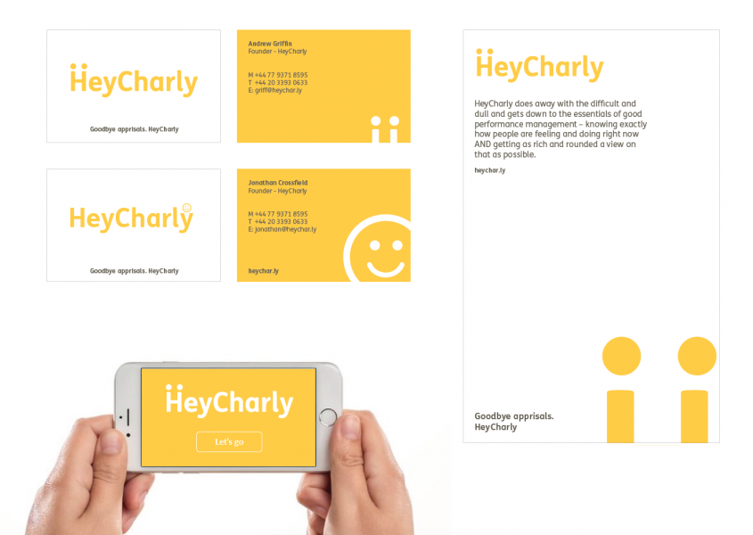 HeyCharly branding