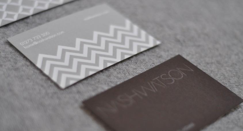 Nash Watson business card design