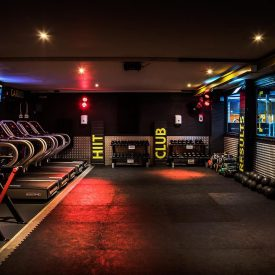 Tribe HIIT Club - gym space design