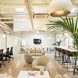 Office interior design company – website design